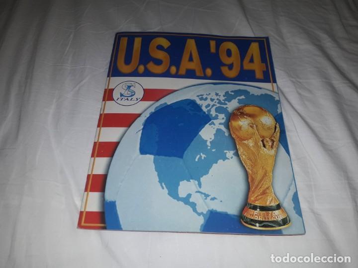 MARADONA EN ALBUM USA 94 COMPLETO (Coleccionismo Deportivo - Álbumes y Cromos de Deportes - Álbumes de Fútbol Completos)