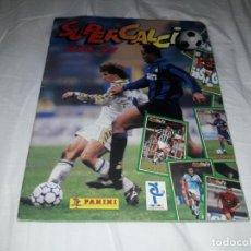 Álbum de fútbol completo: ALBUM SUPERCALCIO 96-97 COMPLETO,ZIDANE,BATISTUTA,ETC. Lote 203077271