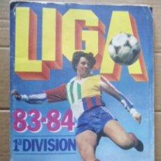 Álbum de fútbol completo: ESTE 1983/84 MUY COMPLETO CON 74 CROMOS EXTRA;DOBLES,COLOCAS,BAJAS,FICHAJES. Lote 203142952
