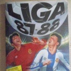 Álbum de fútbol completo: EDICIONES ESTE ALBUM COMPLETO LIGA 87/88 EN MUY BUEN ESTADO. Lote 203147591