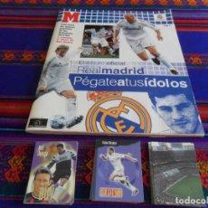 Álbum de fútbol completo: REAL MADRID 96 97 COL. OFICIAL COMPLETA SUELTA PANINI, PÉGATE A SUS ÍDOLOS 05 06 COMPLETO MARCA BE. Lote 203445262