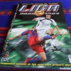 Álbum de fútbol completo: ESTE LIGA 2006 2007 06 07 MUY COMPLETO CON TODOS LOS CRACKS DE NOCILLA, MUCHO DOBLE Y COLOCA. BE.. Lote 204376378