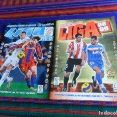 Álbum de fútbol completo: ESTE LIGA 2008 2009 08 09 MUY COMPLETO CON MUCHO CHICLE, DOBLE Y COLOCA. REGALO 2011 2012 11 12. BE.. Lote 204377001