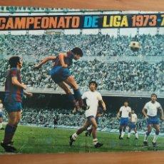 Álbum de fútbol completo: ALBUM COMPLETO FHER DISGRA FUTBOL LIGA 1973 1974 73 74 1973-74 CON LOS 16 FICHAJES CRUYFF PERFECTO. Lote 204477285