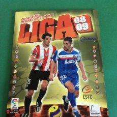 Álbum de fútbol completo: LIGA ESTE - 2008-2009 - ÁLBUM COMPLETO + LOS CHICLES Y EL ERROR DE MASOUD SHOJAEI Y KONKO. Lote 204762358