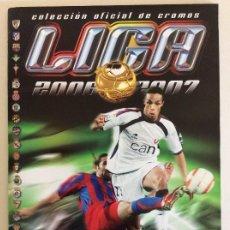 Álbum de fútbol completo: ESTE 2006/07 ÁLBUM LUJO COMPLETO 18 POR EQUIPOS TOTAL 360+137 SIN PEGAR + 48 UF + LOS 28 CRACKS-LEER. Lote 204847496