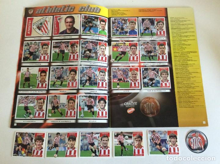 Álbum de fútbol completo: LIGA ESTE 2006/07 ÁLBUM LUJO COMPLETO 18 por equipos total 360+137 sin pegar+ 48 UF+Los 28 cracks- - Foto 2 - 204847496