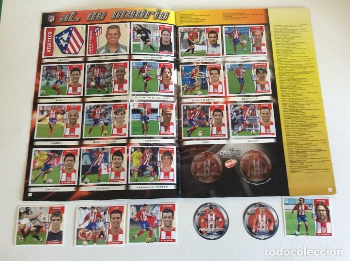 Álbum de fútbol completo: LIGA ESTE 2006/07 ÁLBUM LUJO COMPLETO 18 por equipos total 360+137 sin pegar+ 48 UF+Los 28 cracks- - Foto 3 - 204847496