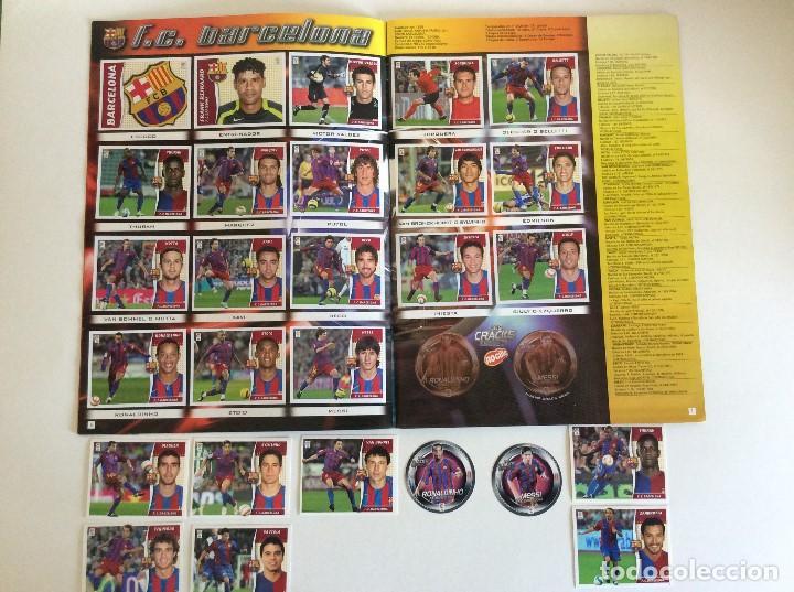 Álbum de fútbol completo: LIGA ESTE 2006/07 ÁLBUM LUJO COMPLETO 18 por equipos total 360+137 sin pegar+ 48 UF+Los 28 cracks- - Foto 4 - 204847496