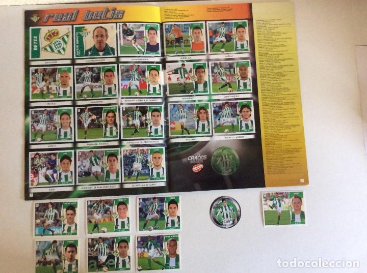 Álbum de fútbol completo: LIGA ESTE 2006/07 ÁLBUM LUJO COMPLETO 18 por equipos total 360+137 sin pegar+ 48 UF+Los 28 cracks- - Foto 5 - 204847496