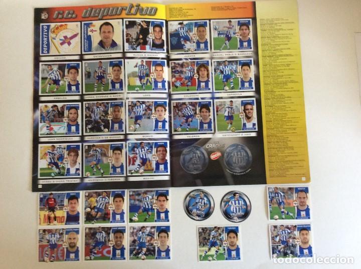 Álbum de fútbol completo: LIGA ESTE 2006/07 ÁLBUM LUJO COMPLETO 18 por equipos total 360+137 sin pegar+ 48 UF+Los 28 cracks- - Foto 7 - 204847496