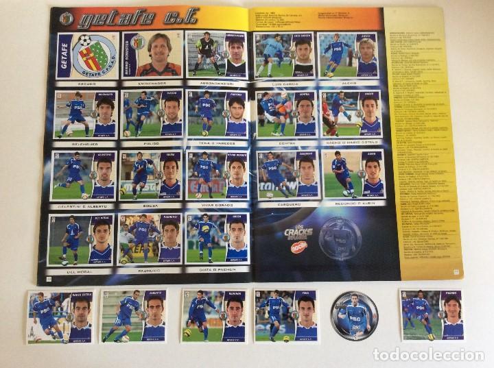 Álbum de fútbol completo: LIGA ESTE 2006/07 ÁLBUM LUJO COMPLETO 18 por equipos total 360+137 sin pegar+ 48 UF+Los 28 cracks- - Foto 9 - 204847496