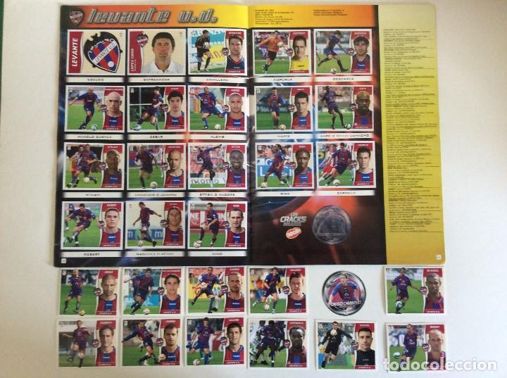 Álbum de fútbol completo: LIGA ESTE 2006/07 ÁLBUM LUJO COMPLETO 18 por equipos total 360+137 sin pegar+ 48 UF+Los 28 cracks- - Foto 11 - 204847496