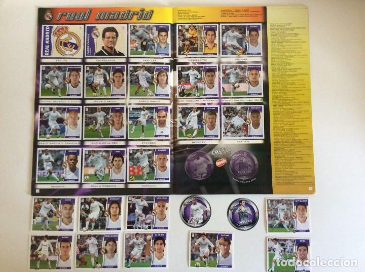 Álbum de fútbol completo: LIGA ESTE 2006/07 ÁLBUM LUJO COMPLETO 18 por equipos total 360+137 sin pegar+ 48 UF+Los 28 cracks- - Foto 12 - 204847496