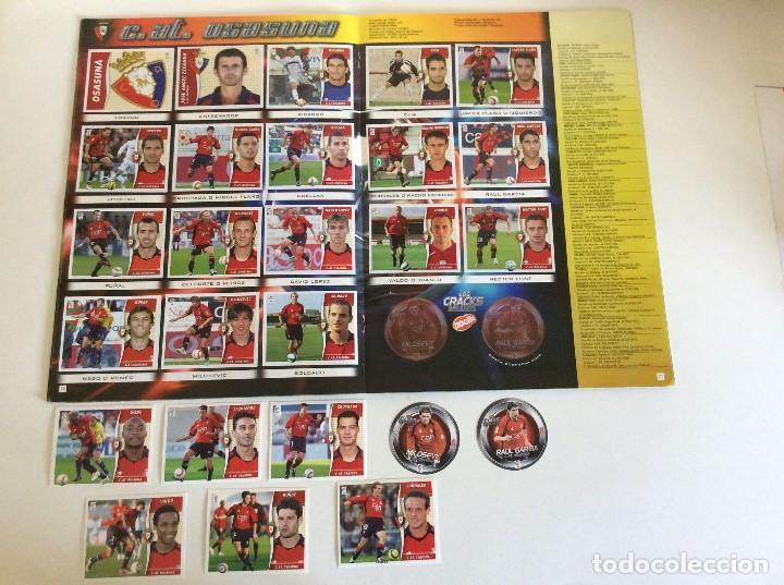 Álbum de fútbol completo: LIGA ESTE 2006/07 ÁLBUM LUJO COMPLETO 18 por equipos total 360+137 sin pegar+ 48 UF+Los 28 cracks- - Foto 14 - 204847496