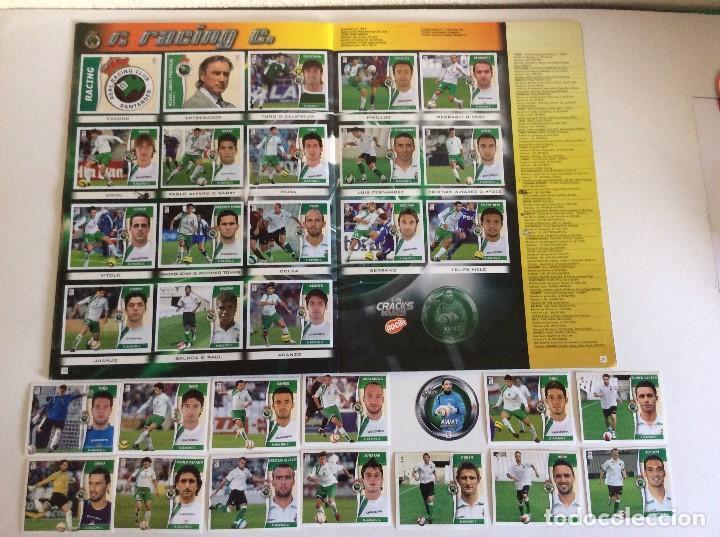 Álbum de fútbol completo: LIGA ESTE 2006/07 ÁLBUM LUJO COMPLETO 18 por equipos total 360+137 sin pegar+ 48 UF+Los 28 cracks- - Foto 15 - 204847496