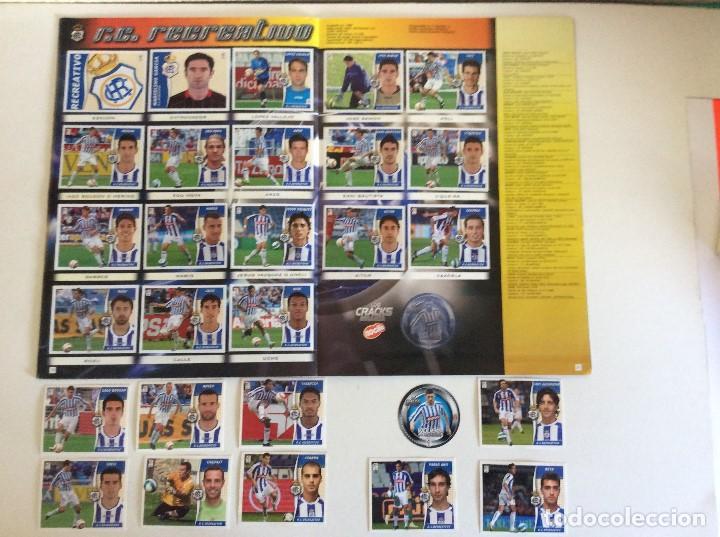 Álbum de fútbol completo: LIGA ESTE 2006/07 ÁLBUM LUJO COMPLETO 18 por equipos total 360+137 sin pegar+ 48 UF+Los 28 cracks- - Foto 16 - 204847496
