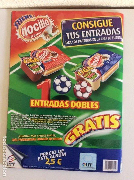 Álbum de fútbol completo: LIGA ESTE 2006/07 ÁLBUM LUJO COMPLETO 18 por equipos total 360+137 sin pegar+ 48 UF+Los 28 cracks- - Foto 24 - 204847496