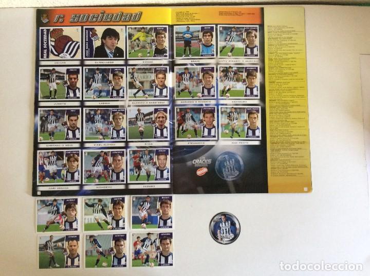 Álbum de fútbol completo: LIGA ESTE 2006/07 ÁLBUM LUJO COMPLETO 18 por equipos total 360+137 sin pegar+ 48 UF+Los 28 cracks- - Foto 18 - 204847496