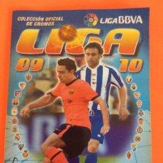 Álbum de fútbol completo: LIGA ESTE -ÁLBUM DE FULBOL 2009-2010 TOTAL MENTE COMPLETO + LOS CHICLES VER FOTOS. Lote 204991706