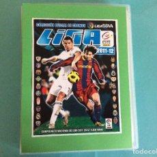 Álbum de fútbol completo: LIGA ESTE -ÁLBUM DE FULBOL 2011-2012 -COMPLETO SIN PEGAR NUEVOS + ERRORES + ÁLBUM PLANCHA-ESTE. Lote 204993572