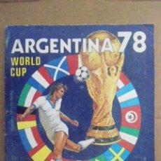 Vollständige Fußballsammelalben: PANINI ALBUM COMPLETO MUNDIAL ARGENTINA 1978. Lote 205131652
