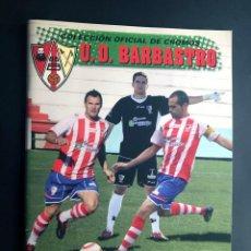 Álbum de fútbol completo: ALBUM COMPLETO FUTBOL / U.D. BARBASTRO 2010-2011 / 279 CROMOS / HUESCA / EDICION LIMITADA / MUY RARO. Lote 205241473