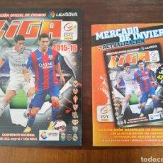 Álbum de fútbol completo: ÁLBUM DE CROMOS LIGA ESTE 2015 2016 15 16 CON LOS FICHAJES DE INVIERNO. Lote 205270661