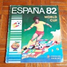 Álbum de fútbol completo: ALBUM DE CROMOS DE FUTBOL COMPLETO DE ESPAÑA 82 - EDICIONES PANINI. Lote 205295945