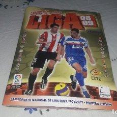 Álbum de fútbol completo: INCREÍBLE ALBUM COMPLETO Y CON MUCHOS DOBLES,MERCADO DE INVIERNO LIGA 2008-09. Lote 205519420