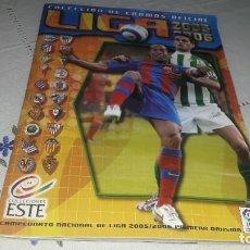 Caderneta de futebol completa: INCREÍBLE ALBUM COMPLETO DE LA LIGA 2005-06 ESTE CON MUCHOS DOBLES. Lote 205524171