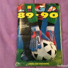 Álbum de fútbol completo: ESTE ÁLBUM 1989 1990 TODO LO EDITADO COMPLETO MENOS MENTXACA Y BUSTINGORRI. Lote 205543060