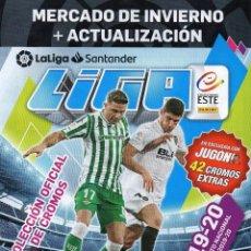 Álbum de fútbol completo: LIGA ESTE 2019 2020 MERCADO DE INVIERNO ACTUALIZACIÓN 42 CROMOS EXTRAS 19 20. Lote 234564535