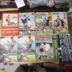 Álbum de fútbol completo: LOTE ÁLBUMES FHER (12 ÁLBUMES) COMPLETOS. Lote 205649208