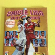 Álbum de fútbol completo: LIGA ESTE - ÁLBUM COMPLETO DE CHICLE - 2007/2008 CON LOS 240 CROMOS CHICLES. Lote 205708271