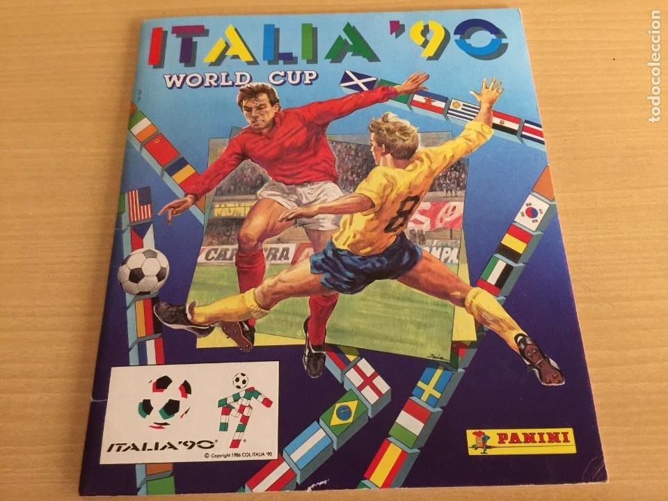 PANINI ITALIA 90 ALBUM VACIO (Coleccionismo Deportivo - Álbumes y Cromos de Deportes - Álbumes de Fútbol Completos)