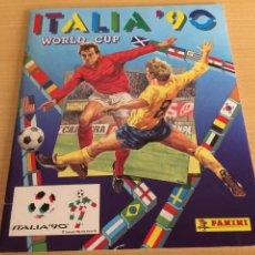 Álbum de fútbol completo: PANINI ITALIA 90 ALBUM VACIO. Lote 205884410