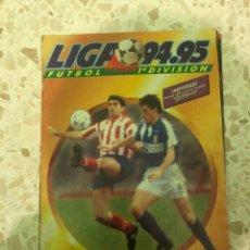 Álbum de fútbol completo: ALBUM LIGA 94-95 EDICIONES ESTE. COMPLETO (VER DESCRIPCIÓN). Lote 206248632