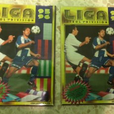 Álbum de fútbol completo: ÁLBUM COMPLETO LIGA 95-96 MÁS AMPLIACIÓN. Lote 206257628