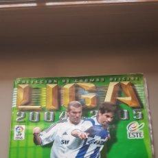 Álbum de fútbol completo: ALBUM COMPLETO TODO EDITADO CON MESSI VENTANILLA LIGA ESTE 04 05 2004 2005. Lote 206788496
