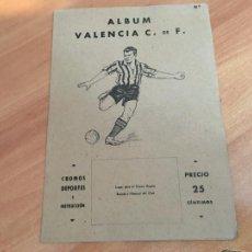 Álbum de fútbol completo: VALENCIA ALBUM FUTBOL COMPLETO VALENCIANA 1941 (COIB93). Lote 207103683