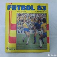 """Álbum de fútbol completo: MAGNIFICO ALBUM DE CROMOS COMPLETO """"FUTBOL 83"""" DE PANINI.. Lote 207125050"""