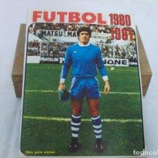 Álbum de fútbol completo: ALBUM DE FÚTBOL, LIGA 1980 1981 80/81 FHER (DISGRA) COMPLETO,FALTA FICHAJES. Lote 207126190