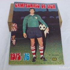 Álbum de fútbol completo: ÁLBUM CAMPEONATO DE LIGA FHER 1975 / 1976 DISGRA 75 76 COMPLETO. Lote 207126496