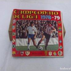 Álbum de fútbol completo: CAMPEONATO DE LIGA 1978-1979, 78-79 - EDITORIAL FHER - COMPLETO. Lote 207128647