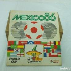 Álbum de fútbol completo: ALBUM CROMOS PANINI MEXICO 86 COMPLETO. Lote 207128877