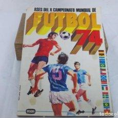 Álbum de fútbol completo: ÁLBUM, MUNDIAL 1974 DISGRA FHER COMPLETO 74. Lote 207129793