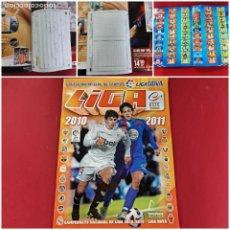 Álbum de fútbol completo: ALBUM LIGA 2010/2011 -COMPLETO-IMPECABLE ESTADO. Lote 207326583