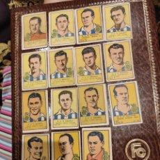 Álbum de fútbol completo: COLECCIÓN COMPLETA R.C.D ESPAÑOL EDITORIAL VALENCIANA 1941. Lote 208188611