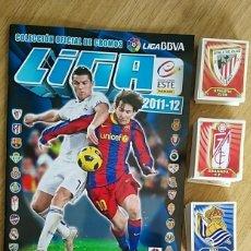 Álbum de fútbol completo: ALBUM COMPLETO LIGA ESTE 2011 12 PANINI-INCLUYE DOS VERSIONES DE ALTINTOP Nº9 MADRID Y FICHAJE 5 BIS. Lote 208427133